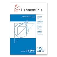 Transparentpapier A3 - 110/115 g/m² Entwurfblock