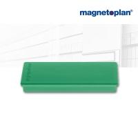 magnetoplan Rechteckmagnet, grün