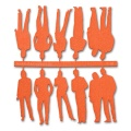 Figuren, 1:50, orange