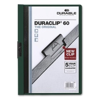 Clip Folder Duraclip 60 - A4 petrol