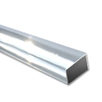 ASA Rectangular Tubes, ext. 4 x 2 mm, transparent clear