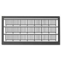 Railings 1:100, Type 1, grey