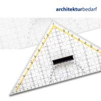 Schneiddreieck 32,5 cm mit Stahlkante