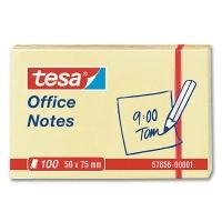 Tesa Office Notes, gelb, 50 x 75 mm