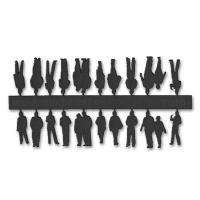 Figuren, 1:200, schwarz