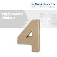 Buchstabe Papier-Mâché - 4