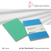 Skizzenheft Sketch & Note, Blue Bundle A3 hoch