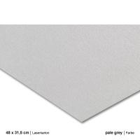 Laserkarton 48 x 63 cm, pale grey