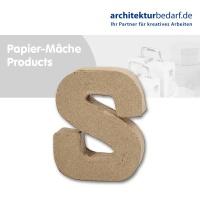 Buchstabe Papier-Mâché - S