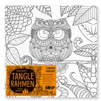 Tangle Frame Motive Eagle Owl