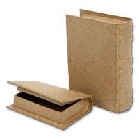 Schachteln in Buchform, 2 Stück