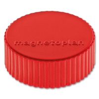 magnetoplan Discofix Rundmagnete magnum, rot