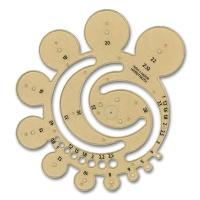 Abrundungsschablone 0,8 - 40 mm