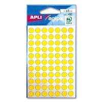 agipa Marking Points, Ø 8 mm, yellow