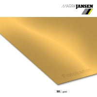 Fotokarton 300g/m²  70 x 100 cm, 98 gold