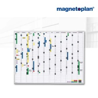 magnetoplan Jahresplaner, (B)900 x (H)600 mm