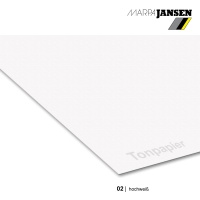 Tonzeichenpapier 130g/m² DIN A4, 02 hochweiß