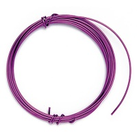 Decorative Aluminium Wire 1,0 mm purple