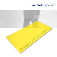 Präzisions-Acrylglas transparent gelb