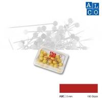 Alco Landkartennadeln 5 mm rot