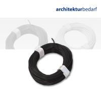Kupferschaltlitze schwarz - extra dünn