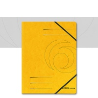 Corner Elastic Colorspan A4 yellow