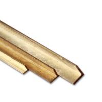Brass L-Profile 1,0 x 1,0 mm