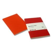 Skizzenheft Sketch & Note, Red Bundle A6 hoch