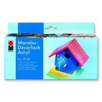 Decorlack Acryl glossy, Starter-Set