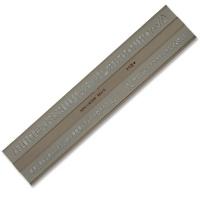 Schriftschablone 5,0 mm