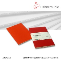 Skizzenheft Sketch & Note, Red Bundle A4 hoch