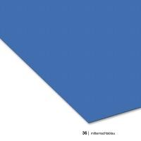 Tonzeichenpapier DIN A4, 36 mitternachtsblau