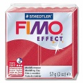 Fimo Effect Metallic Colour 28 ruby red