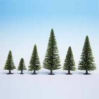 Spruce, tall, with Base, 16 - 19 cm, 10 pcs.