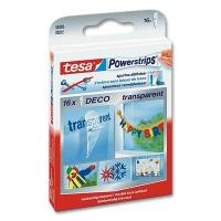 Tesa PowerStrips Deco transparent