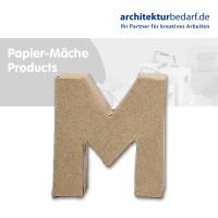 Buchstabe Papier-Mâché - M