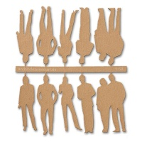 Figures, 1:50, light brown