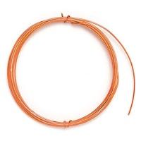 Decorative Aluminium Wire 1,0 mm orange