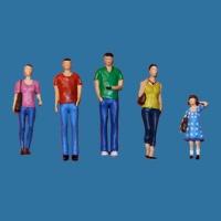 Model Figures 1:50 standing, Leisure