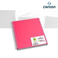 Skizzenbuch Canson Notes, rosa 18,5 x 18,5 cm