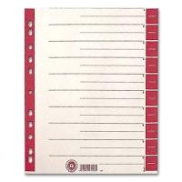 Dividers 100 pcs., red printed