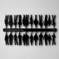 Figuren, 1:100, schwarz glänzend