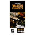 Vallejo Pigments Flyer, German Language