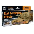 Model Air Set Rust & Chipping Effects Set (8)