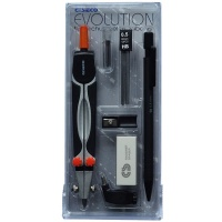 Zirkelkasten Cesieco Evolution Schwarz-Orange