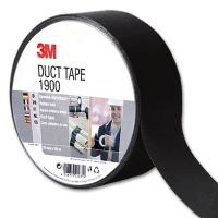 3M Scotch Economy Fabric Tape, black