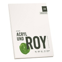 Acrylblock 290g/m² rau 360 x 480 mm