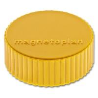 magnetoplan Discofix Rundmagnete magnum, gelb