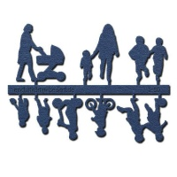 Figure Set Children, 1:50, dark blue