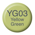 COPIC Ink Typ YG03 yellow green